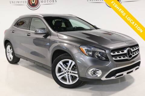 2018 Mercedes-Benz GLA for sale at Unlimited Motors in Fishers IN