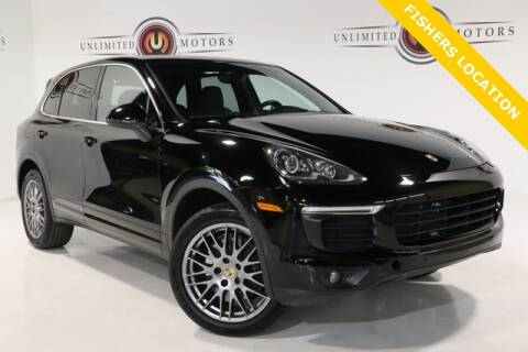 2016 Porsche Cayenne for sale at Unlimited Motors in Fishers IN