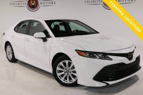 2018 Toyota Camry for sale at Unlimited Motors in Fishers IN