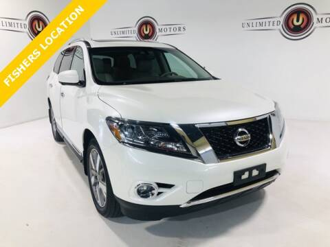 2015 Nissan Pathfinder for sale at Unlimited Motors in Fishers IN