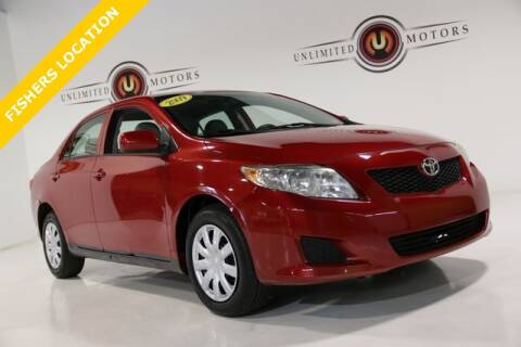 2009 Toyota Corolla for sale at Unlimited Motors in Fishers IN