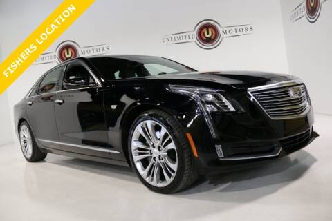 2017 Cadillac CT6 for sale at Unlimited Motors in Fishers IN