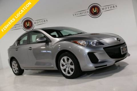 2012 Mazda MAZDA3 for sale at Unlimited Motors in Fishers IN
