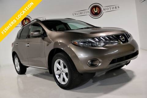 2010 Nissan Murano for sale at Unlimited Motors in Fishers IN