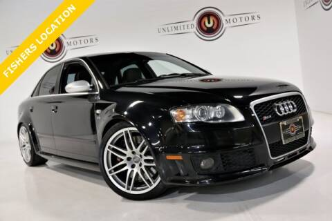 2007 Audi RS 4 for sale at Unlimited Motors in Fishers IN