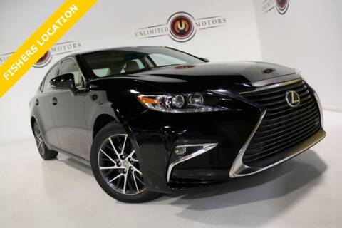 2016 Lexus ES 350 for sale at Unlimited Motors in Fishers IN