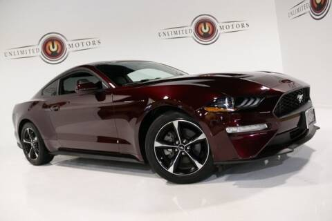 2018 Ford Mustang for sale at Unlimited Motors in Fishers IN