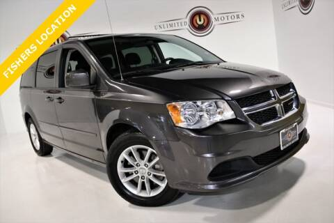 2016 Dodge Grand Caravan for sale at Unlimited Motors in Fishers IN