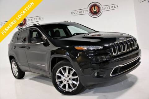 2014 Jeep Cherokee for sale at Unlimited Motors in Fishers IN