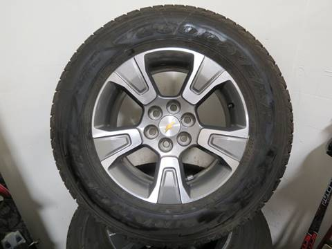 2015 Chevrolet Rims with Goodyear  Goodyear Wrangler  for sale in Filer, ID