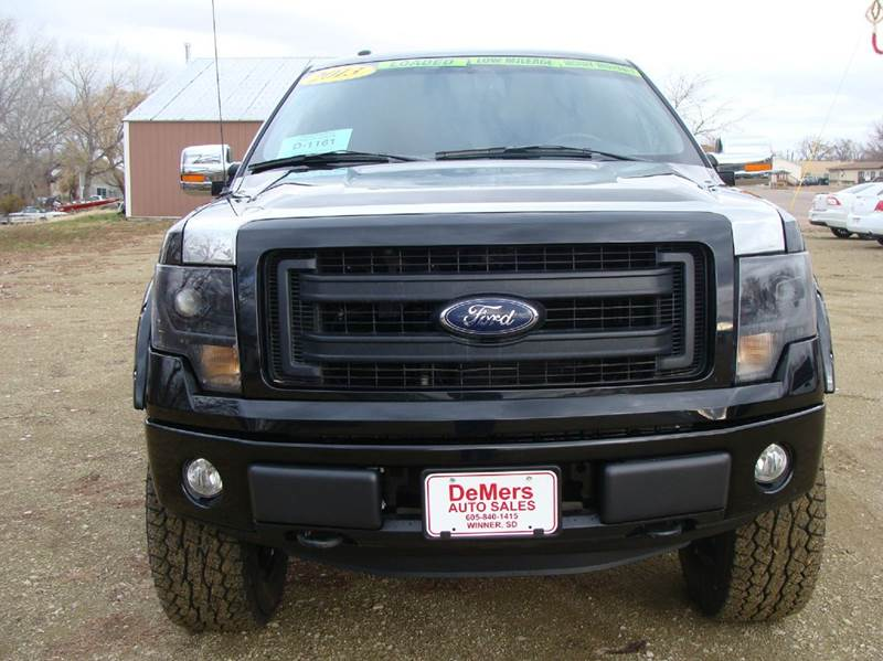2013 Ford F-150 for sale at DeMers Auto Sales in Winner SD