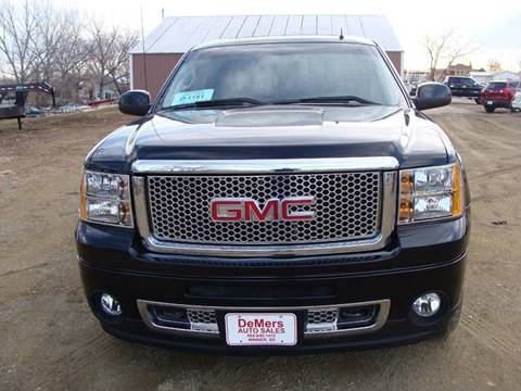 2011 GMC Sierra 1500 for sale at DeMers Auto Sales in Winner SD