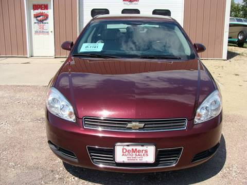 2007 Chevrolet Impala for sale at DeMers Auto Sales in Winner SD