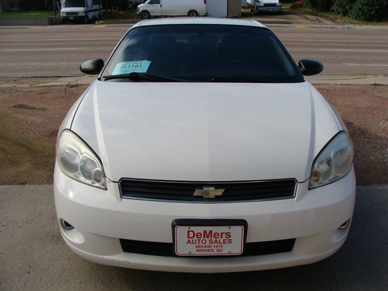 2006 Chevrolet Monte Carlo for sale at DeMers Auto Sales in Winner SD