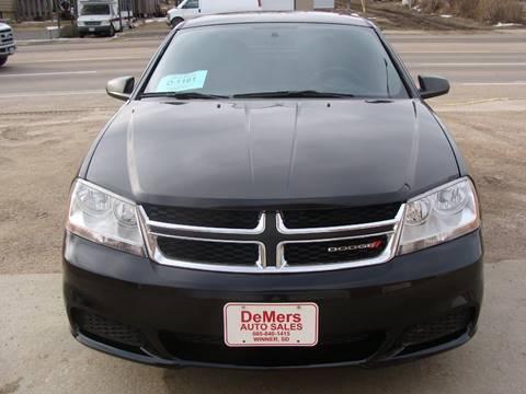 2014 Dodge Avenger for sale in Winner, SD