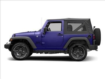 2017 Jeep Wrangler for sale in Vineland, NJ
