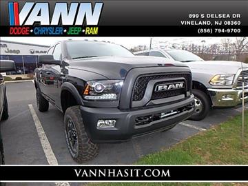 2017 RAM Ram Pickup 2500 for sale in Vineland, NJ