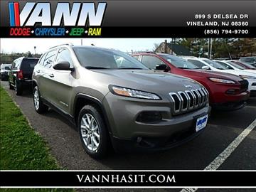 2017 Jeep Cherokee for sale in Vineland, NJ