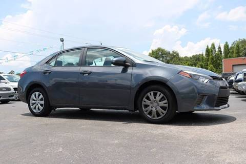 2016 Toyota Corolla for sale in Riverview, FL