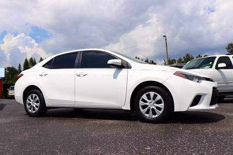 2014 Toyota Corolla for sale in Riverview, FL