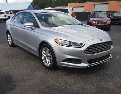 2013 Ford Fusion for sale in Riverview FL