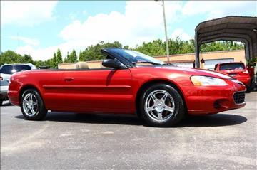 2002 Chrysler Sebring for sale in Riverview FL
