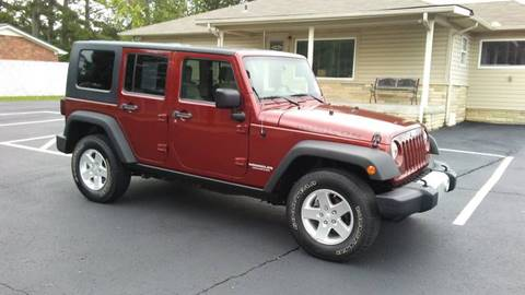2008 Jeep Wrangler Unlimited for sale in Manchester TN