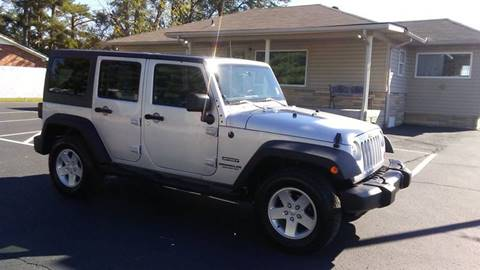 2011 Jeep Wrangler Unlimited for sale in Manchester, TN