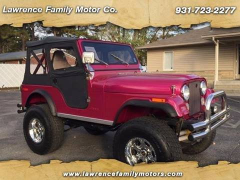 1979 Jeep CJ-5 for sale in Manchester, TN