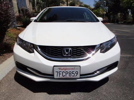 2014 Honda Civic LX 4dr Sedan CVT - Escondido CA