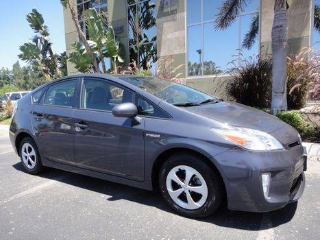 2014 Toyota Prius Two 4dr Hatchback - Escondido CA