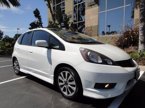 2013 Honda Fit Sport 4dr Hatchback 5A - Escondido CA