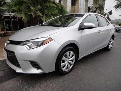 2015 Toyota Corolla for sale in Escondido, CA
