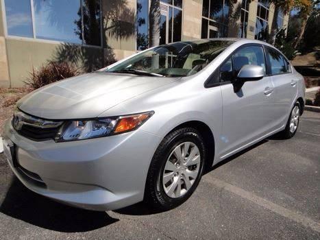 2012 Honda Civic for sale in Escondido, CA