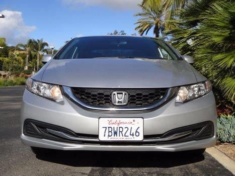 2013 Honda Civic LX 4dr Sedan 5A - Escondido CA