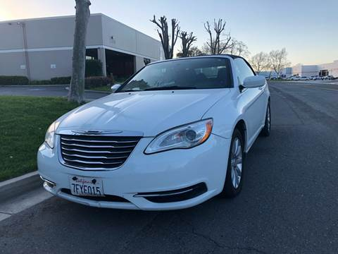 2012 Chrysler 200 Convertible for sale in Temecula, CA