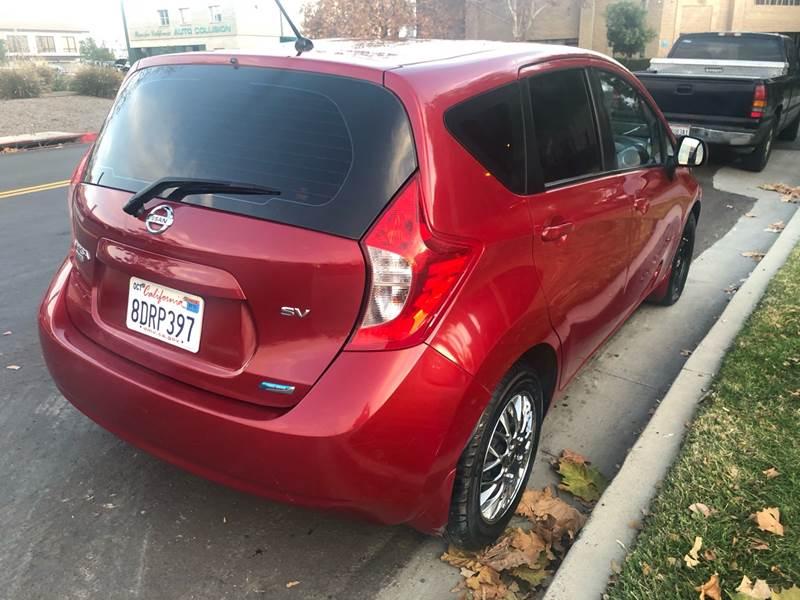 2014 Nissan Versa Note SV 4dr Hatchback - Temecula CA