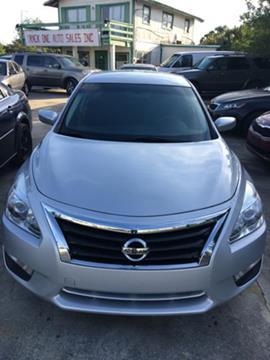 2015 Nissan Altima for sale at Track One Auto Sales in Orlando FL