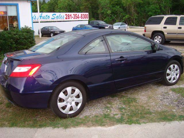 2006 Honda Civic LX 2dr Coupe w/Automatic - Porter TX