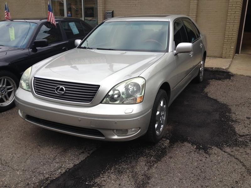 2003 Lexus Ls 430 car for sale in Detroit