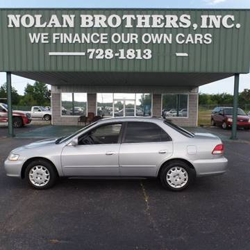 2001 Honda Accord for sale in Booneville, MS