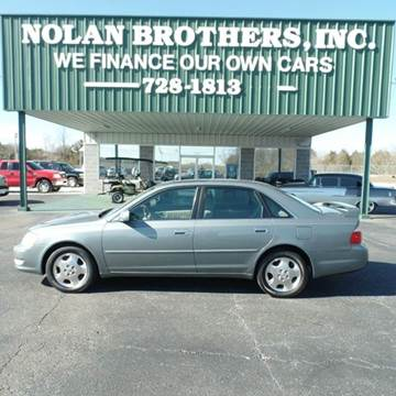 2004 Toyota Avalon for sale in Booneville, MS