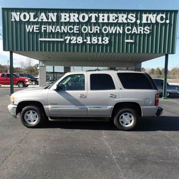 2004 GMC Yukon for sale in Booneville, MS