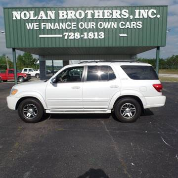 2007 Toyota Sequoia for sale in Booneville, MS