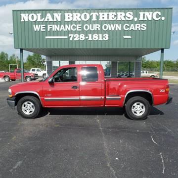 2002 Chevrolet Silverado 1500 for sale in Booneville, MS