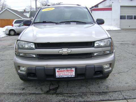 2003 Chevrolet TrailBlazer for sale in Hammond, IN