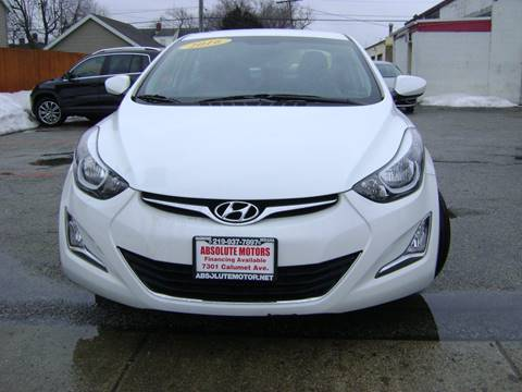 2016 Hyundai Elantra for sale in Hammond, IN