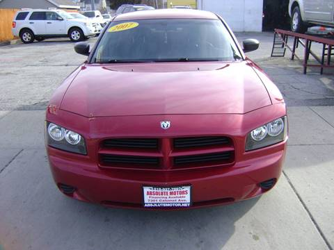 2007 Dodge Charger for sale at Absolute Motors in Hammond IN