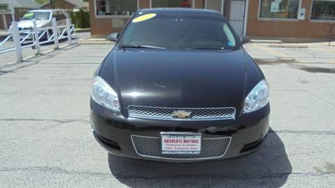 2012 Chevrolet Impala for sale in Hammond, IN
