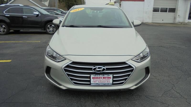2017 Hyundai Elantra for sale at Absolute Motors in Hammond IN